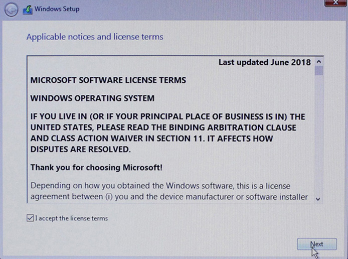License Windows 10